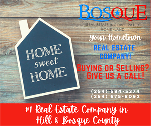 Bosque real estate ad